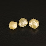 Loose 1.33 CTW Rough Diamonds