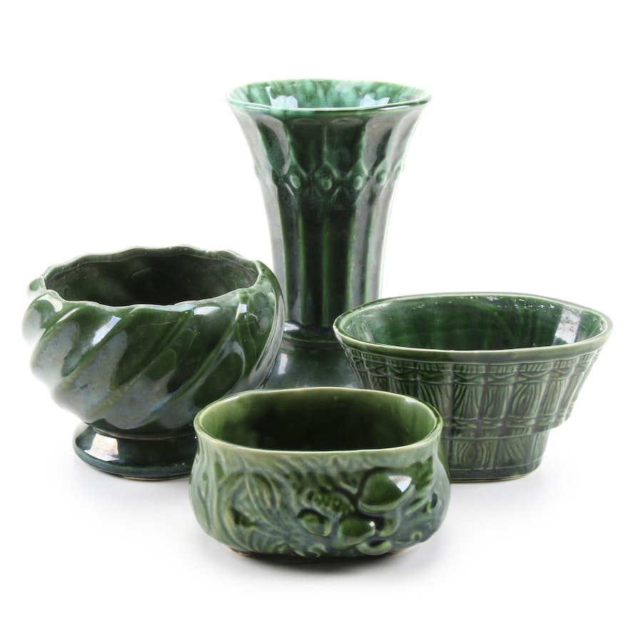 Stoneware Pottery Vases and Planters