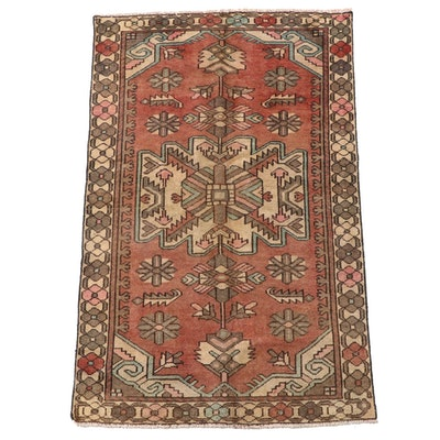4'1 x 6'4 Hand-Knotted Northwest Persian Wool Area Rug