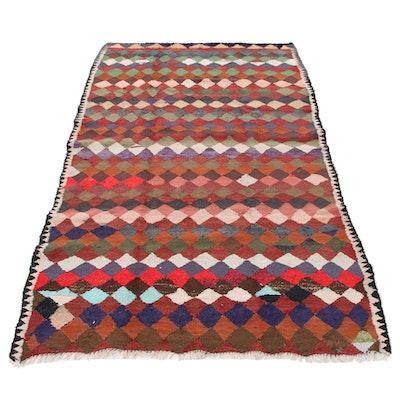 5' x 8'10 Handwoven Persian Kilim Wool Rug