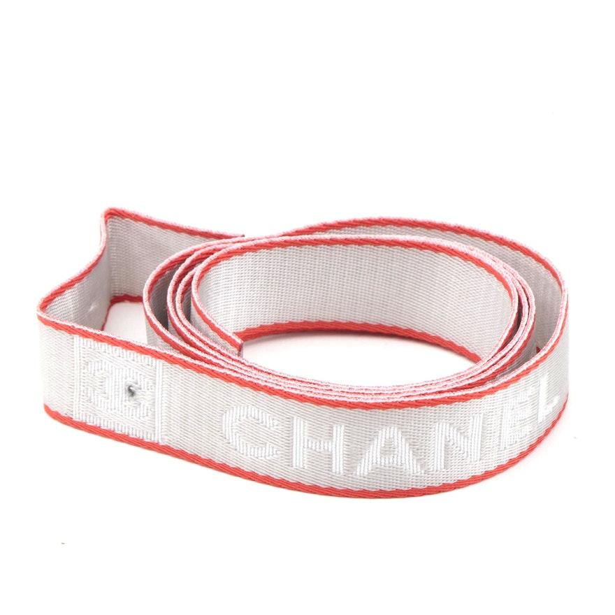 Chanel Sport Line Nylon CC Logo Lanyard Phone Strap