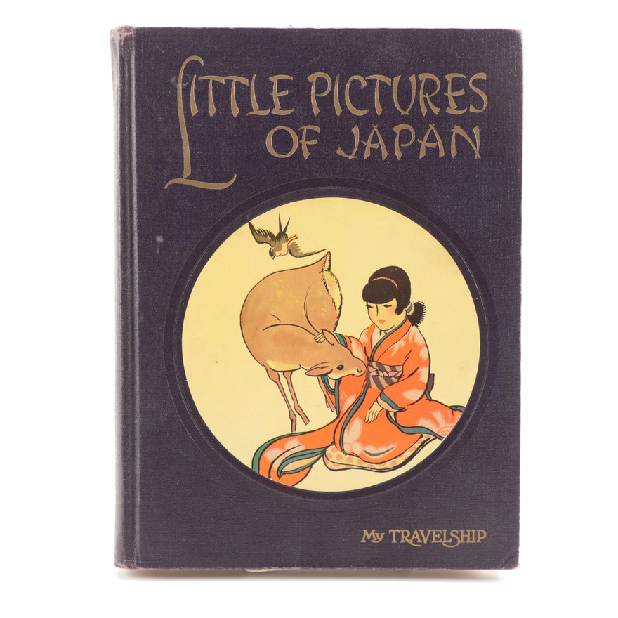 "Illustrated ""Little Pictures of Japan"" Edited by Olive Beaupré Miller, 1925"