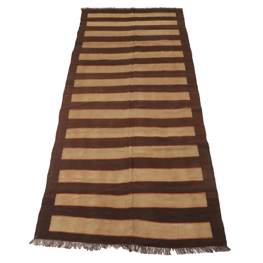 5'3 x 12'2 Handwoven Afghan Kilim Long Rug