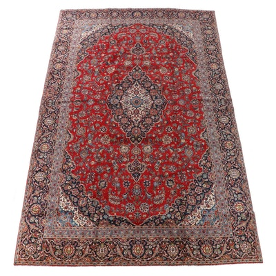 9'9 x 16'2 Hand-Knotted Persian Tabriz Wool Room Sized Rug