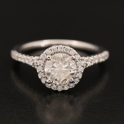 14K 1.39 CTW Diamond Ring