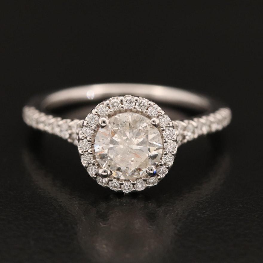 14K 1.39 CTW Diamond Ring