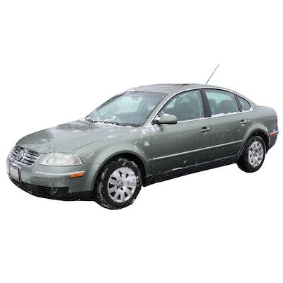 """2002 """"Fresco Green Metallic"""" Volkswagen Passat GLS 1.8L Turbo Sedan"""
