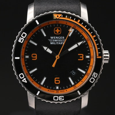 Wenger Swiss Military Roadster Stainless Steel Quartz Wristwatch