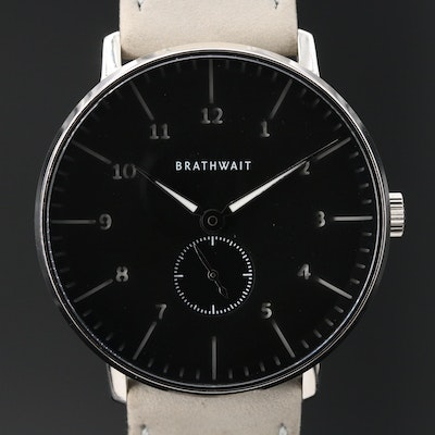 Brathwait The Minimalist Luminous Stainless Steel Wristwatch
