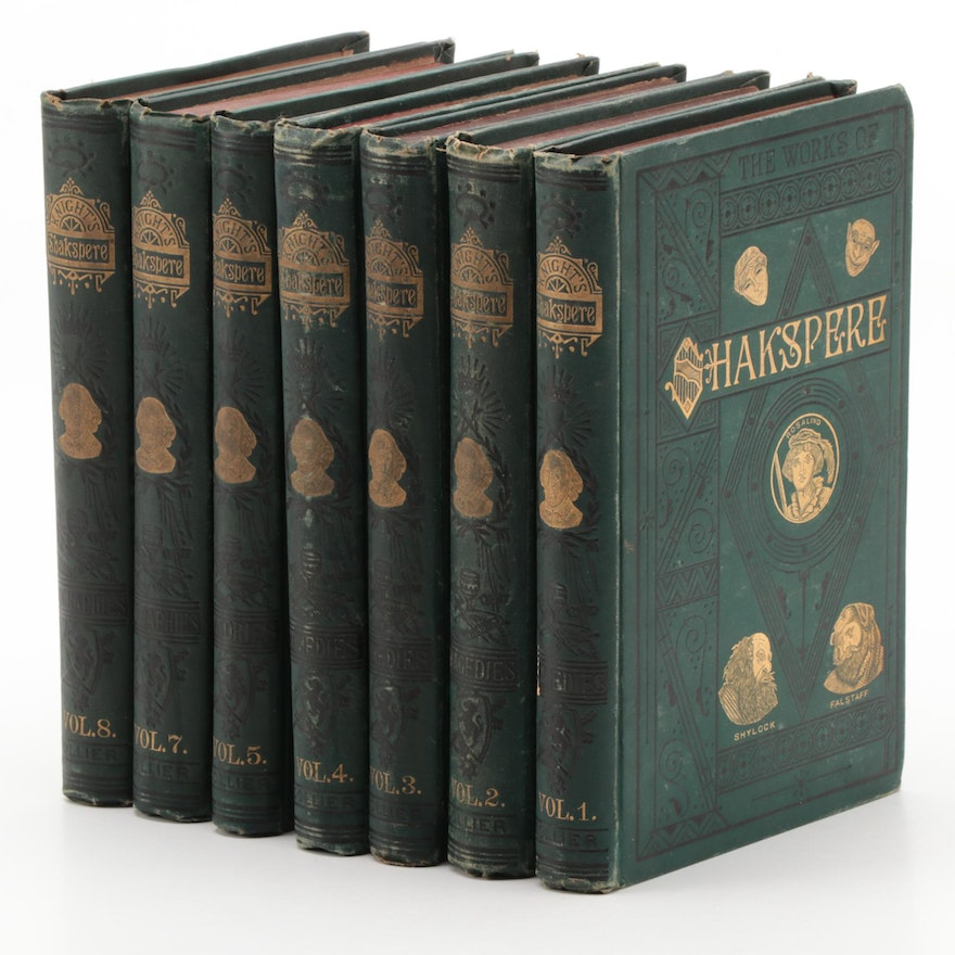 """Charles Knight's """"The Works of Shakspere,"""" Pictorial Edition"""