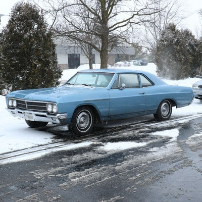 """1966 """"Astro Blue"""" Buick Special Two-Door Coupe"""