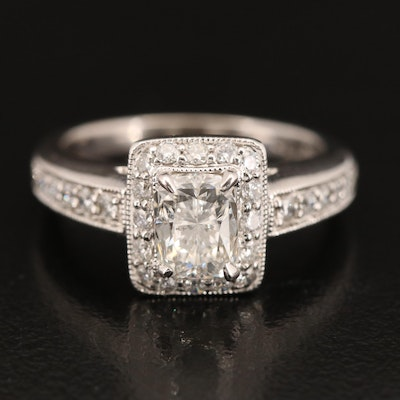 18K 1.44 CTW Diamond Ring