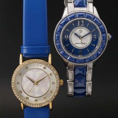 Two Fashion Quartz Wristwatches