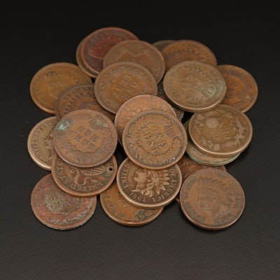Indian Head Cents and Flying Eagle Cents