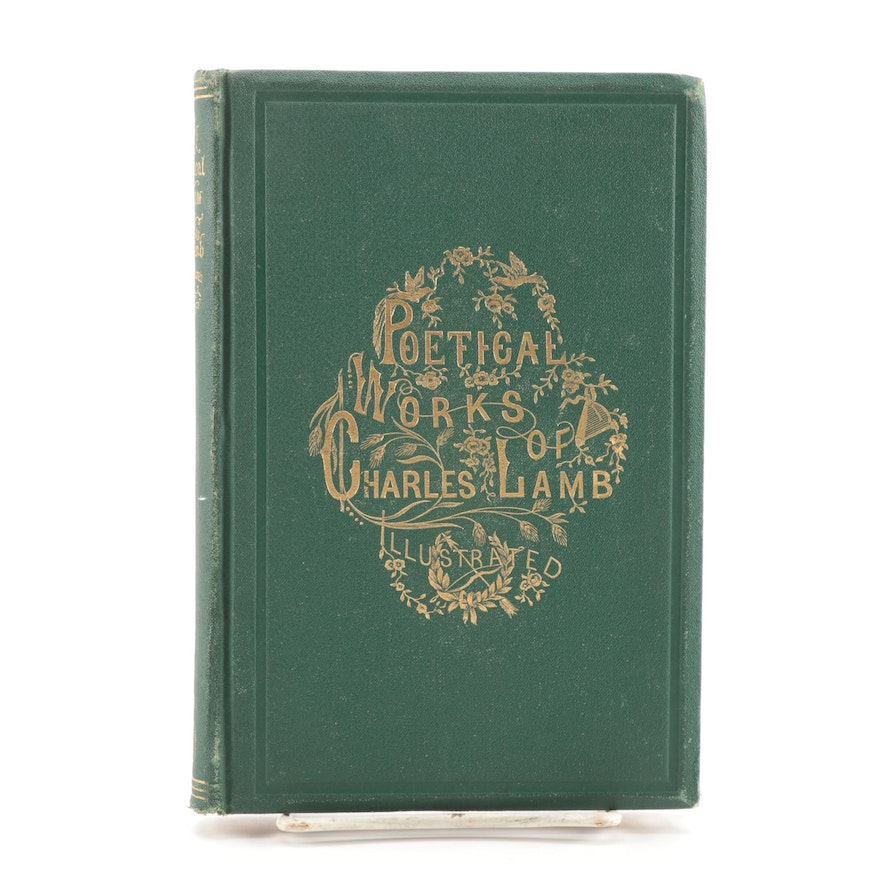 """Illustrated """"The Poetical Works of Charles Lamb,"""" 1865"""