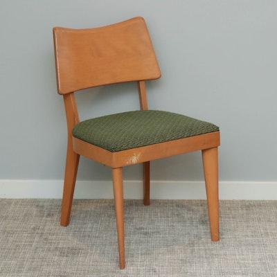 Heywood-Wakefield Maple Side Chair, Mid-20th Century