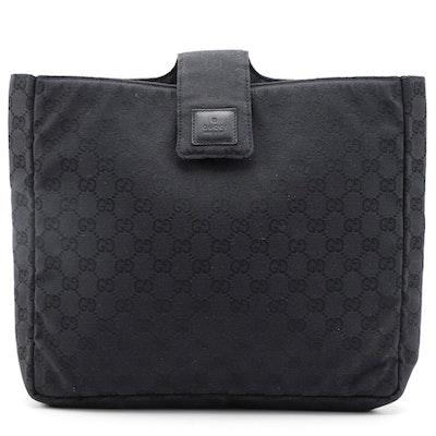 Gucci GG Black Canvas Tech Case