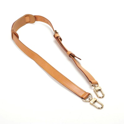 Louis Vuitton Bandouliere Shoulder Strap in Vachetta Leather