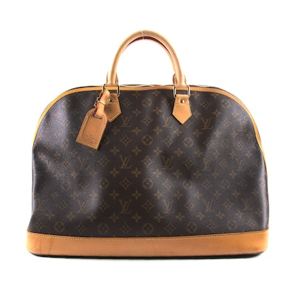 Louis Vuitton Alma Voyage in Monogram Canvas and Vachetta Leather