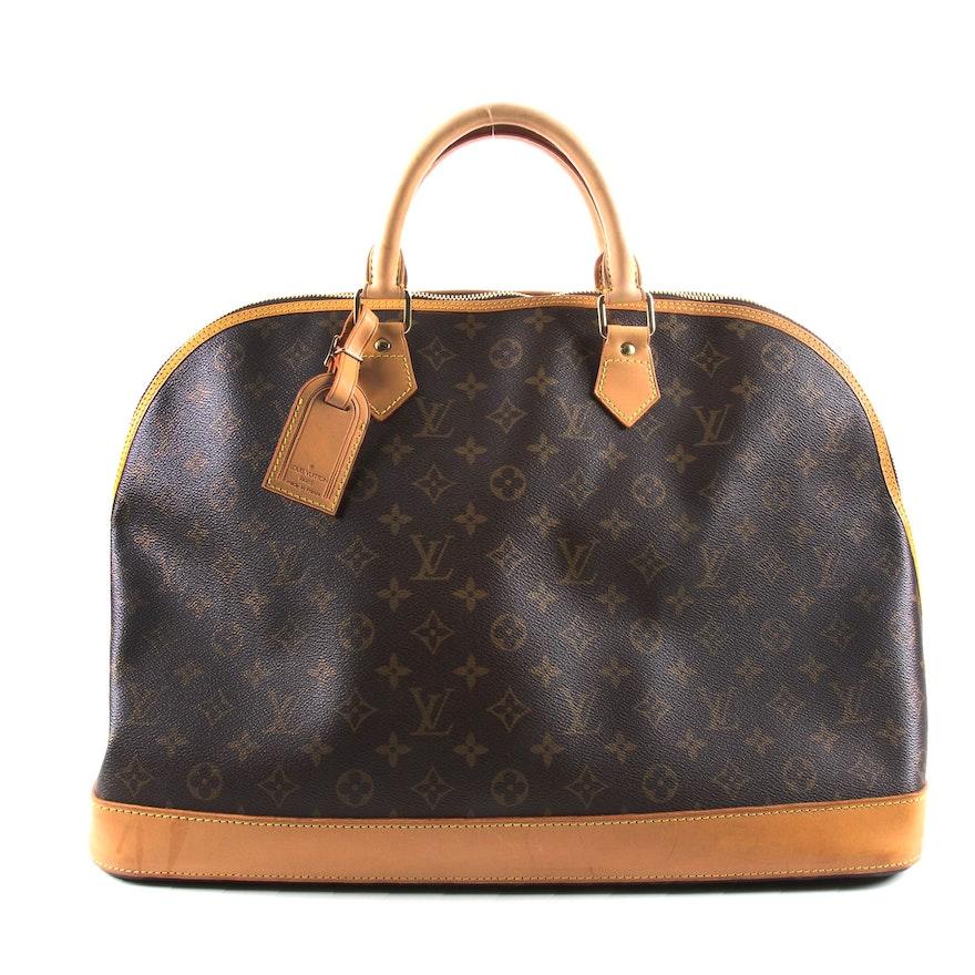 Louis Vuitton Alma Voyage in Monogram Canvas and Vachetta Leather