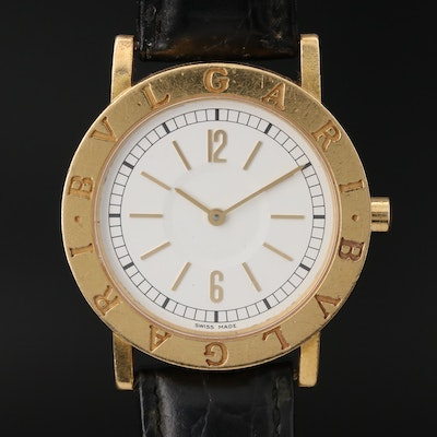18K Bvlgari Quartz Wristwatch