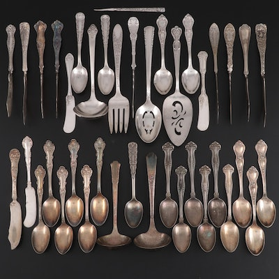 Wm Rogers Mfg. Co., National Silver Co. and Other Silver Plate Servingware