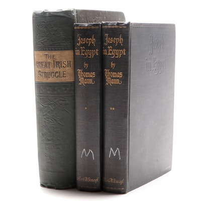 """Joseph in Egypt"" Two-Volume Set by Thomas Mann and More"