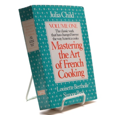 "Signed ""Mastering the Art of French Cooking"" by Julia Child et al., 1990"