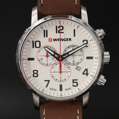 """Wenger """"Attitude Chrono"""" Stainless Steel Quartz Wristwatch"""