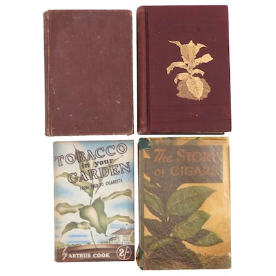 """Tobacco Leaf: Its Culture and Cure"" and More Tobacco Growing Books"