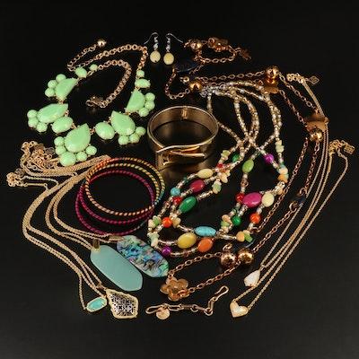 Jewelry Featuring Kate Spade, Stella & Dot and Kendra Scott