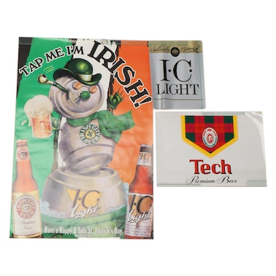Iron City Light and TECH Pittsburgh Premium Beer Items
