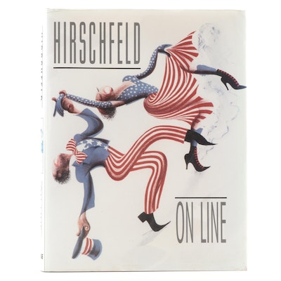 "Illustrated ""Hirschfeld: On Line"" by Al Hirschfeld, 1999"