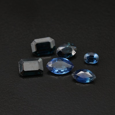 Loose 4.04 CTW Faceted Sapphires