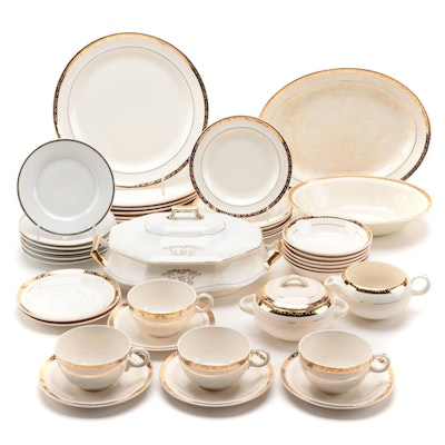 "American Limoges ""Manhattan"" and Other Ceramic Dinnerware"