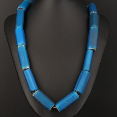 Antique Nueva Cádiz Trade Bead Necklace
