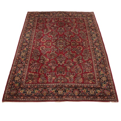 9' x 11'9 Machine Made Karastan Sarouk Style Room Sized Rug