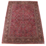 "8'7 x 12'2 Power Loomed Karastan ""Sarouk"" Wool Area Rug"