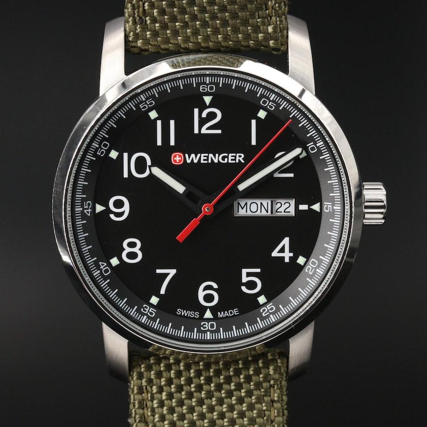 Wenger Attitude Heritage Stainless Steel Quartz Wristwatch