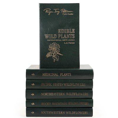 Easton Press Roger Tory Peterson Field Guides on Wildflowers and Plants