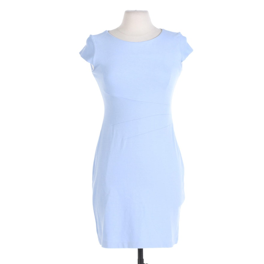 Nora Gardner New York Powder Blue Cap Sleeve Verana Dress