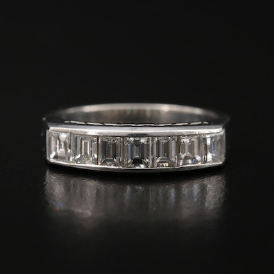 Platinum 1.00 CTW Diamond Band