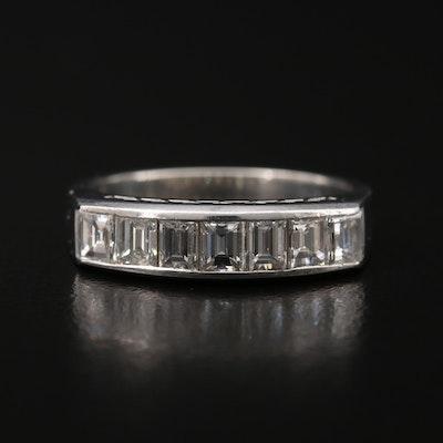 Platinum 1.00 CTW Diamond Band