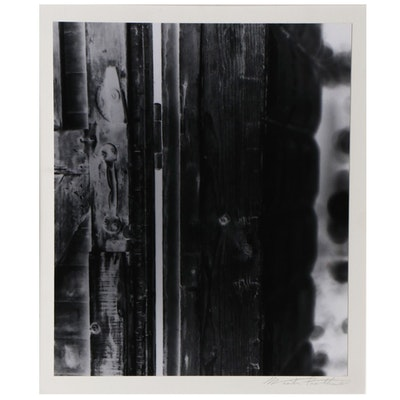 Winter Phillips Prather Inverted Silver Gelatin Photograph and Photography Book