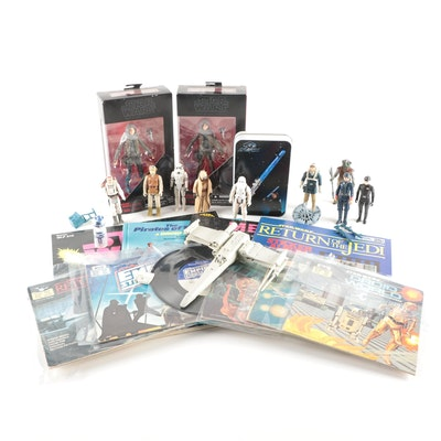 Star Wars Action Figures, Read-Along Records and More