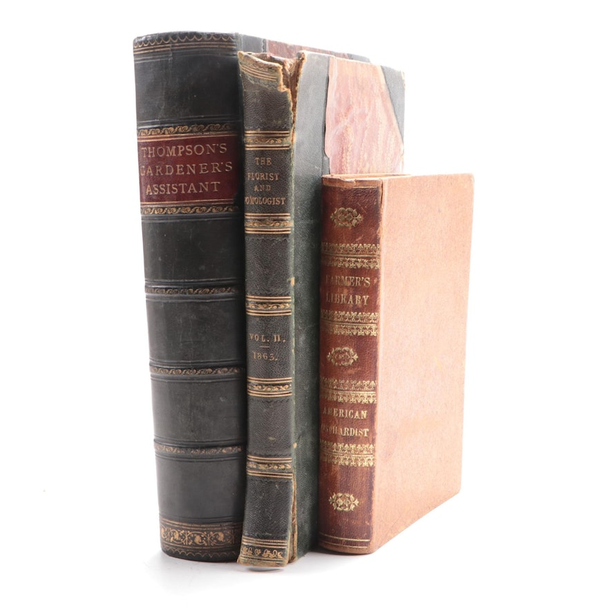 """""""The American Orchardist"""" and More 18th Century Horticulture Books"""