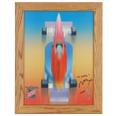 """Peter Max Offset Lithograph """"2003 Indianapolis 500,"""" 2003"""