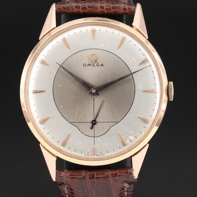 Omega Cal.265 Movement in Generic 18K Rose Gold Case