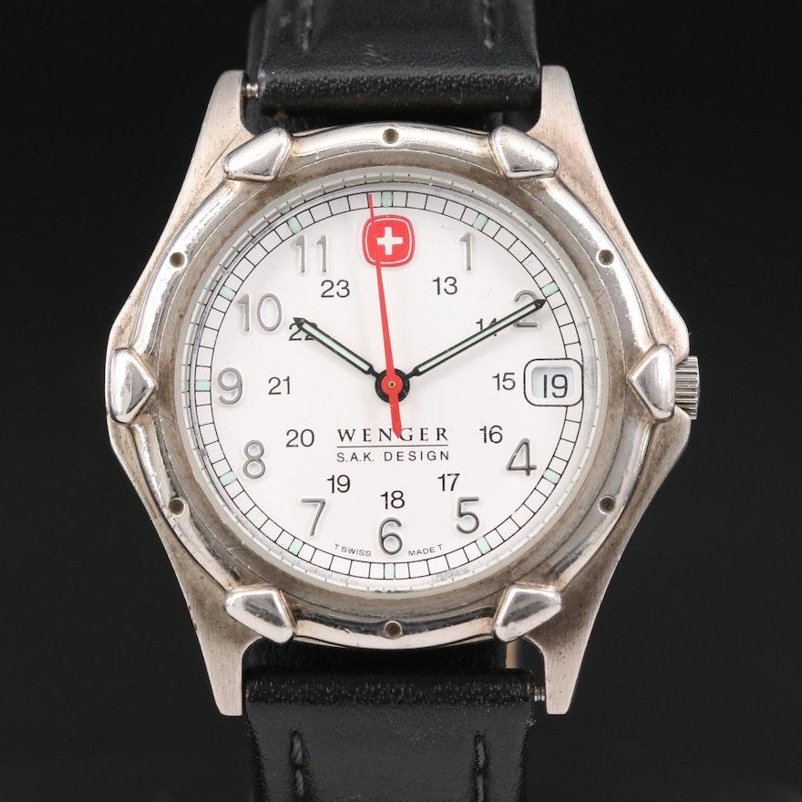Wenger S.A.K. Design Quartz Wristwatch