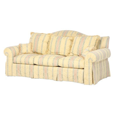 Henredon Upholstery Collection Chippendale Style Sofa, Late 20th Century